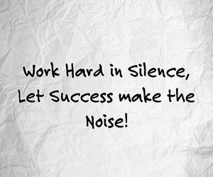success, quote, and work image