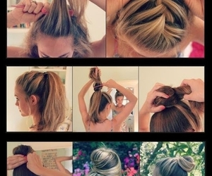 beauty, blonde, and diy image