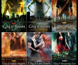 book, the mortal instruments, and cassandra clare image