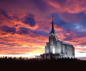 Temple and lds image