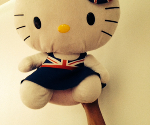hello kitty and london image