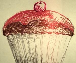 cupcake, fashion, and heart image