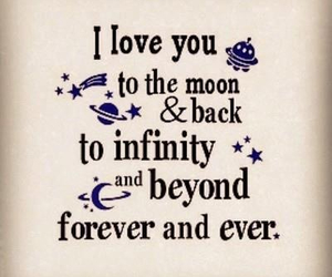love, quotes, and infinity image