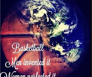 Basketball and women image
