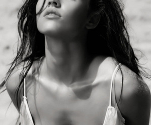 b&w, sexy, and cute image