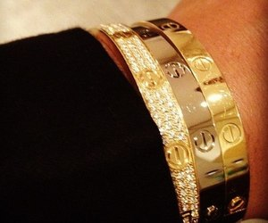 cartier and gold image