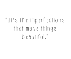 quote, beautiful, and imperfection image