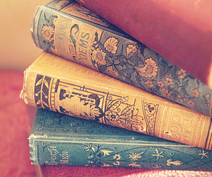 books, vintage, and colorful image