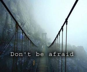 afraid, quote, and life image