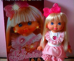 90's, doll, and fun image