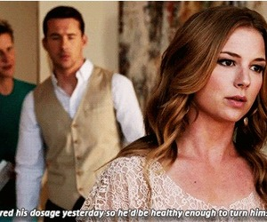 revenge, aiden, and emily thorne image