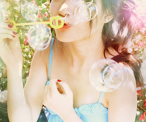 bubbles, love, and photography image