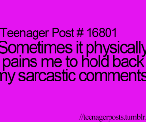 teenager post, quote, and sarcastic image