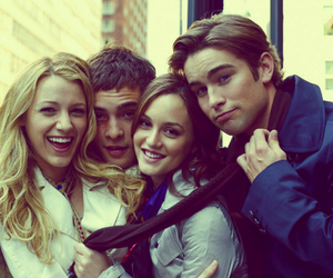 blair, nate archibald, and chuck bass image