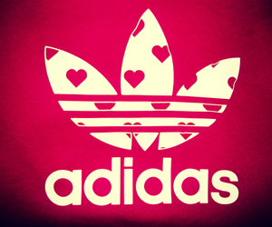 adidas, fashion, and red image