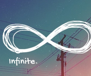love, infinite, and forever image