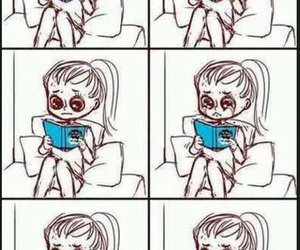 book, the fault in our stars, and cry image
