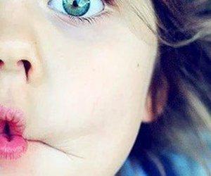 azul, blue eye, and baby image