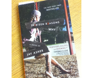 books, jay asher, and thirteen reasons why image
