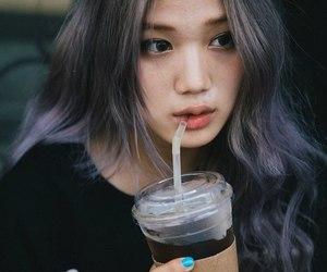 ulzzang, hair, and kai image
