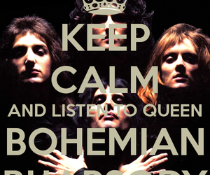 Queen, bohemian rhapsody, and background image