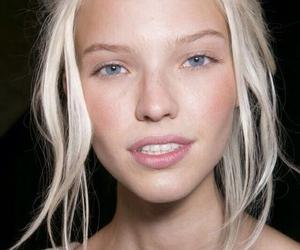 model, sasha luss, and blonde image