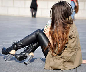 leather pants image