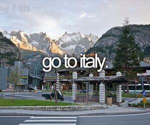italy, before i die, and go image