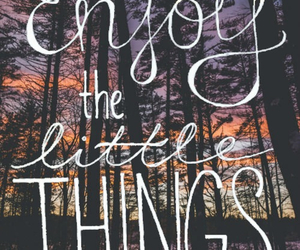 enjoy, quote, and things image