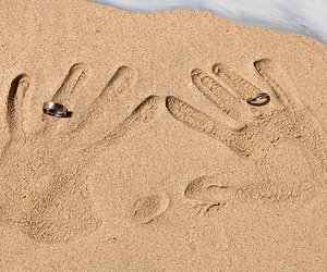 sand and love image