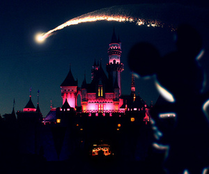 disney, disneyland, and mickey image