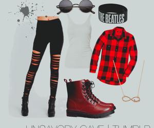 black, bracelet, and fashion image