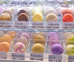 colourful, japanese, and macaron image