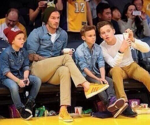 boy, beckham, and David Beckham image
