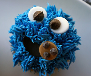 blue, food, and delicious image