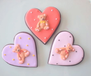 bear, sweets, and Cookies image