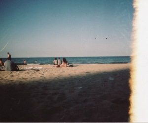 35mm, beach, and chicago image