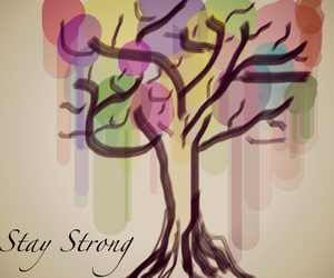 arbol, black, and colores image