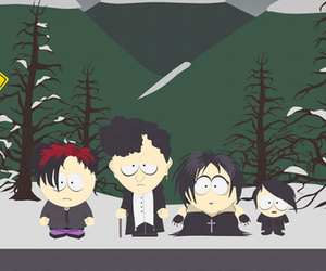 goth and South park image