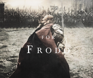 aragorn, LOTR, and frodo image
