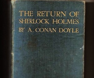 book, quotes, and sherlock holmes image