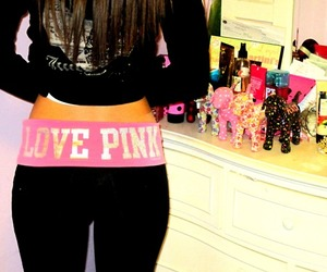 love pink, pink, and Victoria's Secret image