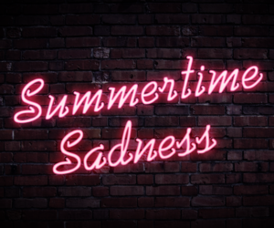 light, sad, and summer image