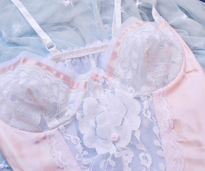 fashion, girl, and lingerie image