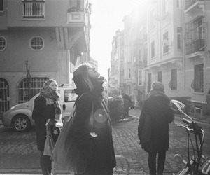 city, vintage, and happy image