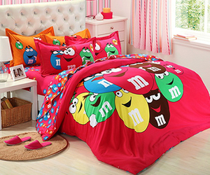 m&m, room, and sweet image