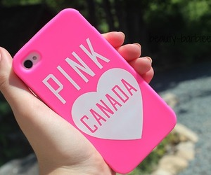 pink, iphone, and canada image
