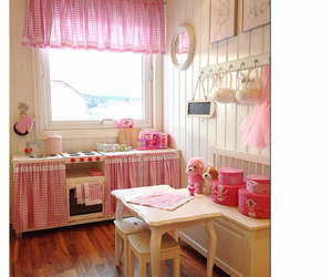 interior, girlsroom, and pink image