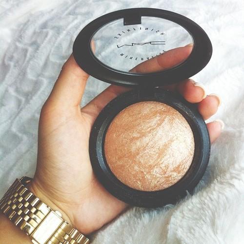 mac, makeup, and bronze image