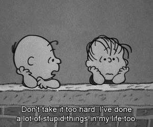 quotes, life, and charlie brown image